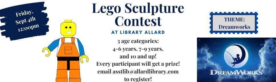 lego sculpture banner 2020