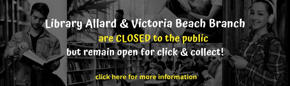 library is CLOSED but open for click and collect WEBSITE